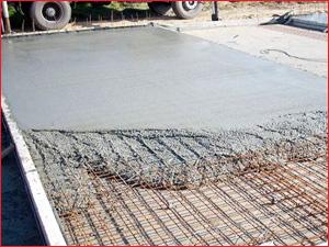 Фундамент дома из бетона марки М300