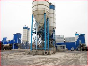 Современный бетонный завод по производству бетона