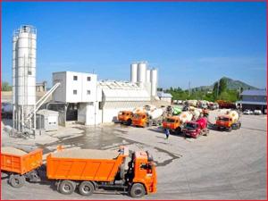 Бетонный завод в черте Красноярска